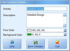 Common Activity Screenshot