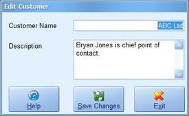 Customer Screenshot