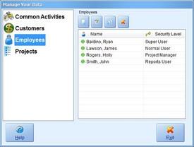 Manage Employees Screenshot