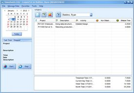 Timesheets Lite Screenshot