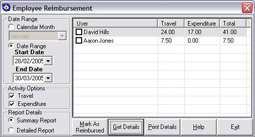 employee reimbursement